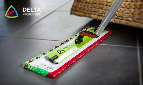 Kit Ergo+ pour l'entretien des sols - Delta microfibre