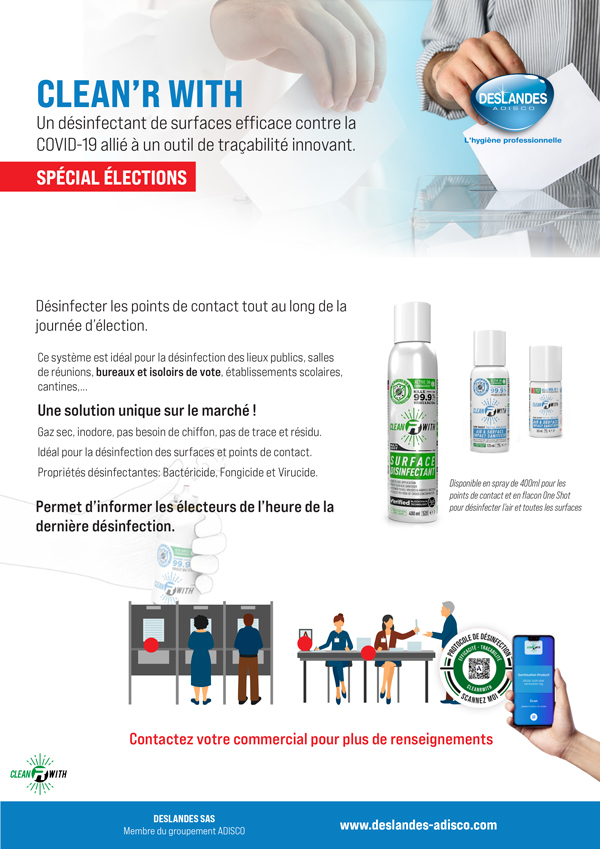 Election d�partement solution Clean'RWith